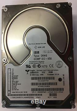 08L8486, IBM Hard Drive 36GB, 10K, SCSI, 68 pin Fully Tested