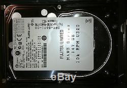 22x Fujitsu MAW3147NC 147GB 10K RPM Ultra 320 80-Pin SCSI Hard Drive FREE SHIP