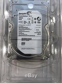 2 TB Seagate serial attached SCSI hard drives x 4