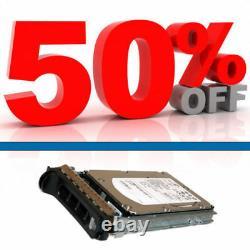 300GB 15K RMP SAS 3.5 Hard Drive Seagate T10 ST3300555SS DELL 0JW552 JW552
