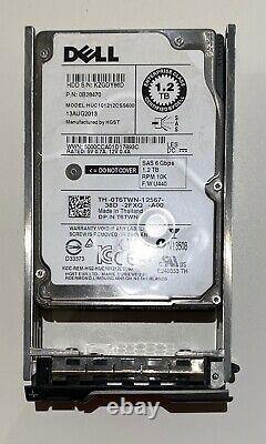 4x1.2TB 10K SAS 2.5 SAS 6G HARD DRIVE Fits DELL SERVER R610 R620 R630 R710 R720