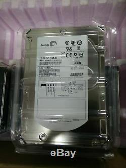 4x Seagate Cheetah 15K. 5 ST3146855LC 146GB 15K RPM 80-Pin SCSI Hard Drives NEW