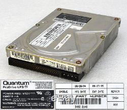50-pol 270mb Quantum Prodrive Lps 270s Scsi2 Festplatte Hard Disk Drive Hdd O236