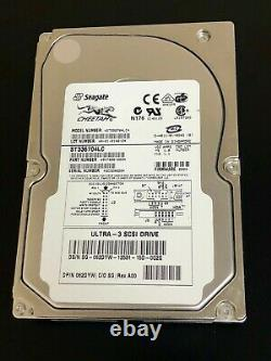 62DYW Seagate Dell 062DYW 36GB 10K SCSI 3.5 Hard Drive ST336704LC