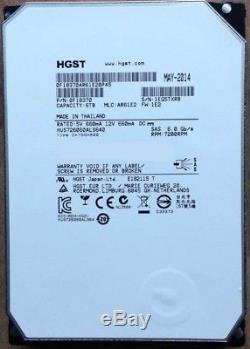 6 X 6TB Hitachi HGST Ultrastar 3.5 SAS SCSI Server Hard Drive, 64MB Cache