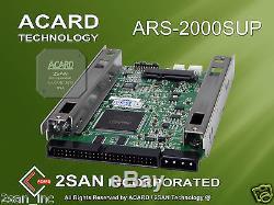 ACARD ARS-2000SUP 50pin SCSI to SATA II Hard Disk Drive