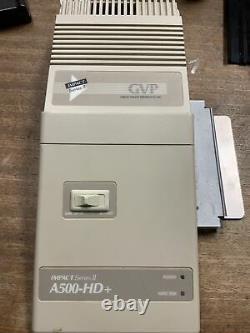 Amiga GVP Impact Series II A500 HD+ SCSI HDD for Amiga 500 / 500+ Untested