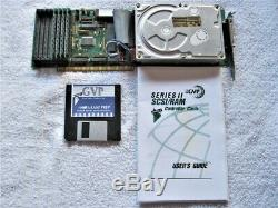 Commodore Amiga GVP SCSI Card with 52mb Harddrive &4 MB of Fast Ram OS2.1