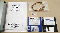 DKB RapidFire SCSI II Controller with 2gb Harddrive 8mb RAM for Amiga 2000 4000