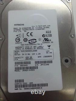 Dell 0B23491 HITACHI ULTRASTAR SAS 450-GB 15K RPM Hard Disk Drive With Caddy