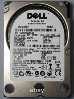 Dell 146GB 10K RPM 2.5 SAS 6Gbps Hard Drive For Dell R610