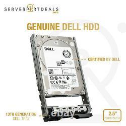 Dell GP3FR 1.8TB 10K RPM SAS 12Gb/s 2.5 PowerEdge Hard Drive