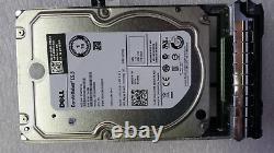 Dell T4XNN 1TB 7.2K RPM 6Gb/s 3.5'' SATA Hot Plug Hard Drive With Caddy-0D981