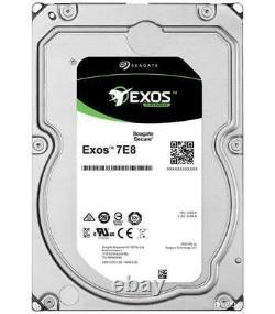 EXOS 7E8 3.5 SAS 12Gb/s 512n Enterprise Hard Drive, 2TB SEAGATE