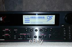 E-MU E4X Emulator 128MB Memory, 2GB IBM SCSI Hard Drive, EOS 3.00B EMU Sampler