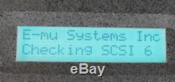 E-mu EMax II (Emu EMax 2) 16 bit Sampler with SCSI hard drive+Zip Drive
