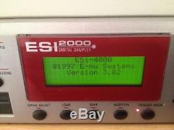 Emu Esi2000 Sampler With SCSI HArd Drive