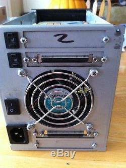 External CTI SCSI Case hard disk drive With 2 Seagate Cheetah drives Included