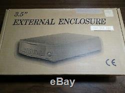 External SCSI Case For 3.5 x 1 50-Pin Drive & Seagate Cheetah 73gig drive