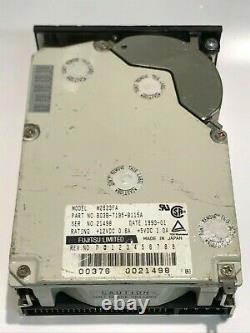 FUJITSU M2623FA 425MB 50 PIN SCSI HARD DRIVE aa5ic7
