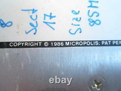 Festplatte Hard Drive Vintage 1986 Disk Memory Unit Micropolis 85MB