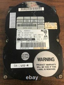 Fujitsu M2684SAU 3.5 540MB 50 Pin 4500RPM SCSI HDD