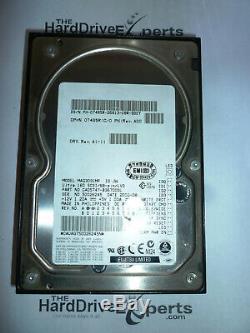 Fujitsu MAG3091MP CA05747-B36700DL 9.1GB 10K 68pin SCSI Hard Drive DP/N 07485R
