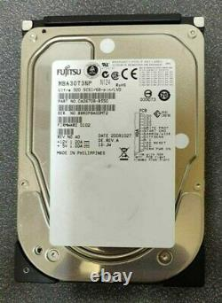 Fujitsu MBA3073NP 73GB 15K RPM 68-Pin SCSI 3.5 Hard Disk Drive