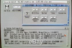 GVP A4000 HC+8 SCSI Controller w4gb Harddrive & 8mb RAM for Amiga 2000 3000 4000