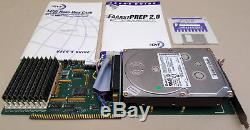 GVP A4000 HC+8 SCSI Controller w4gb Harddrive & 8mb RAM for Amiga 2000 3000 4000
