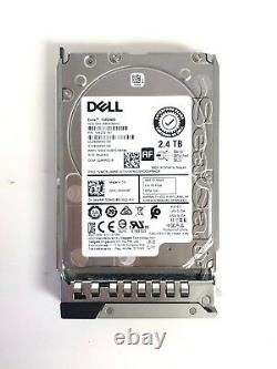 Gen14 Dell 2.4TB 10K 2.5 12Gbps SAS Hard Drive and Tray for PowerEdge Servers