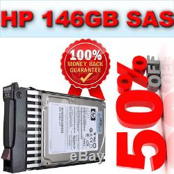 HP 146GB SAS 10K RPM 6G DP Serial SCSI (507119-003) SAS Hard Drive 507283-001