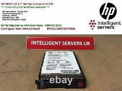 HP 200GB 12G 2.5 SAS High Endurance SC SSD 741151-B21 / 741230-001
