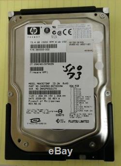 HP 403211-001 / 364333-002 / MAX3073NP 73GB 68PIN 15K RPM SCSI Hard Disk Drive