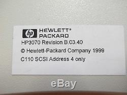 HP C6390A 4.5Gb Hard Drive Fast Wide Diff SCSI 3070 B. 03.40 C6390-60002 E9931A