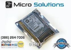 HP Lot Of 10 146gb 10k RPM 2.5 418399-001 418367-b21 Sas Hard Drive
