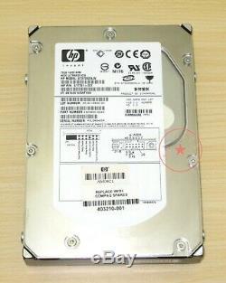 HP ST373455LW 417791-001 HPS1 73GB 68-pin SCSI 15K SCSI hard drive