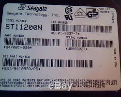 Hard Drive Disk SCSI Seagate ST11200N 947001-030 O-01-9337-7 HDD 078/T/T8