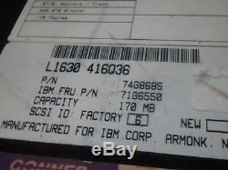 Hard Drive SCSI Conner CFA170S 50-pin 74G8685 71G6550 94018-003