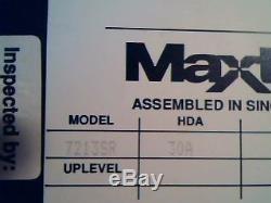 Hard Drive SCSI Disk Maxtor 7213SR 30A 67A 66A B10GMYLS K006423123 Ontario