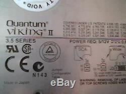Hard Drive SCSI Disk Quantum Viking II 2 PX09L011 01-E 5520 9.1S SPX1 1080