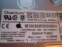 Hard Drive SCSI Quantum Fireball 1280S FB12S012 Rev 01-A FB12S023 655-0394