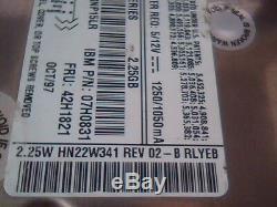 Hard Drive SCSI Quantum Harpoon 2275W HN22W011 42H1821 HN22W341 2.25W