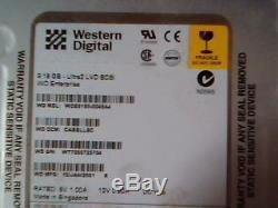 Hard Drive SCSI Western Digital WDE9180-0048A4 CABBLLSC