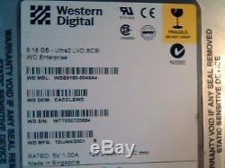Hard Drive SCSI Western Digital WDE9180-0048A4 CACCLEWC
