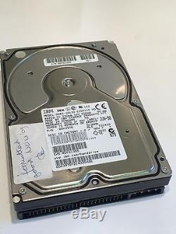 IBM DDRS-39130 00K3970 9.1GB 50-PIN SCSI DRIVE fcb3