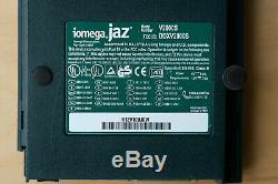 Iomega Jaz 2 GB SCSI External Hard Drive V2000S + Power Supply