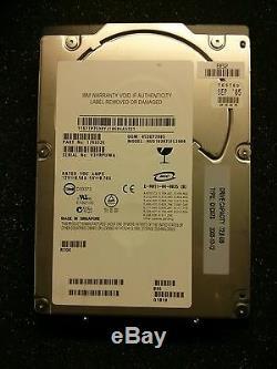 Lot of 10 IBM 73.4 GB, Internal, 10000 RPM, 3.5, SCSI Ultra320, 17R6326 Hard Drive