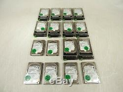 Lot of 16x Toshiba MBF2600RC 600GB 2.5 Serial Attached SCSI SAS Hard Drive