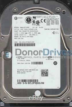 MBA3073NC, PN CA06775-B20300LD, Fujitsu 73GB SCSI 3.5 Hard Drive